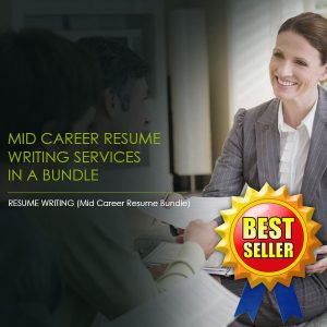 cover letter writing, Mid Career Resume and Cover Letter Bundle