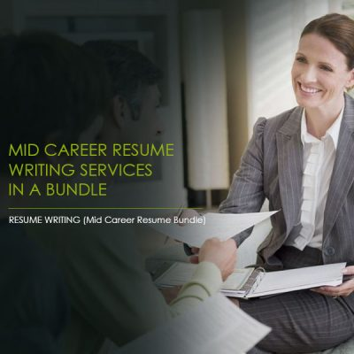 cover letter writing, Mid Career Resume Writing Services Bundle